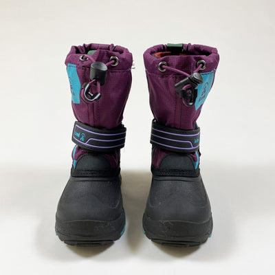 Kamik purple waterproof winter boots with removable lining US 9