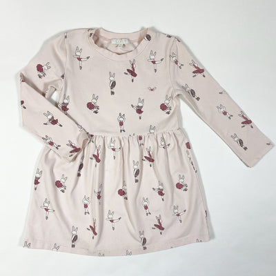 Livly pink ballet bunny long-sleeved dress 3Y