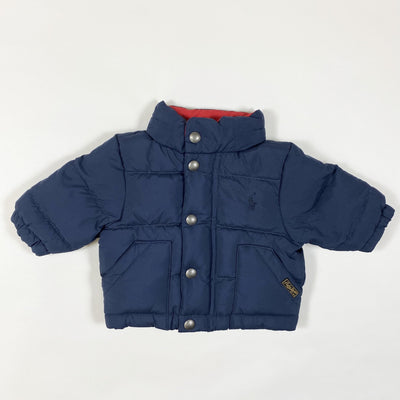 Ralph Lauren navy down puffer jacket 3M