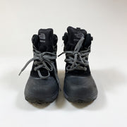 The North Face black winter boots 28
