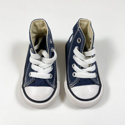 Converse navy converse high tops 19
