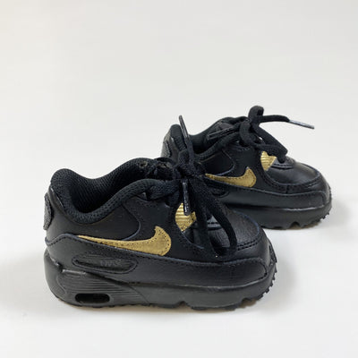 Nike black and gold nike air max 19,5