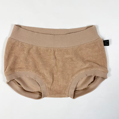 Monkind dusty rose velour bloomers 1-2Y
