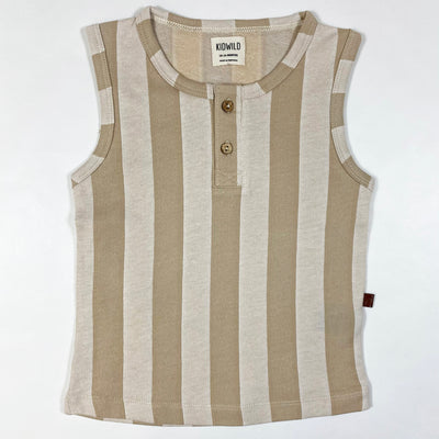 Kidwild beige stripe tank top Second Season 18-24M 1