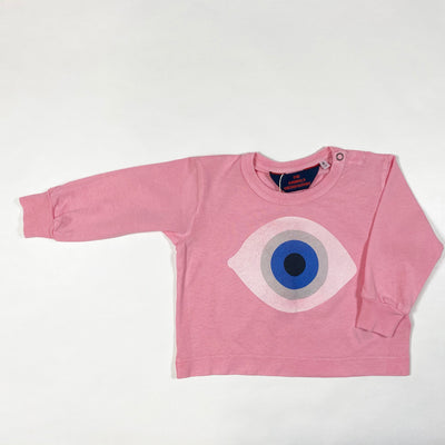 The Animals Observatory pink eye dog baby shirt Second Season 6M/68 1
