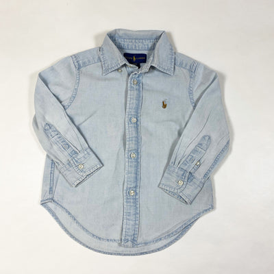 Ralph Lauren denim shirt 2/2T 1