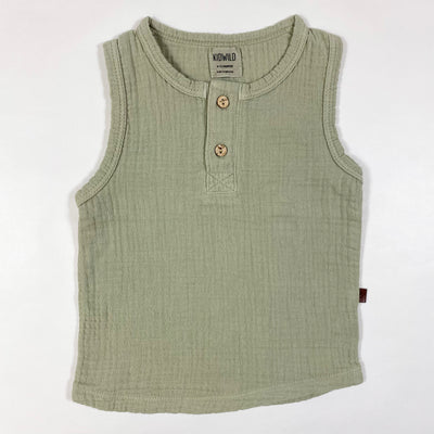Kidwild sage tank top Second Season 6-12M 1