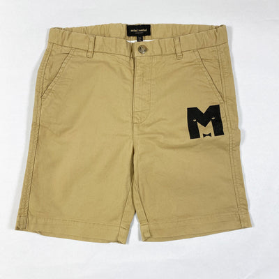 Mini Rodini beige chino shorts 140-146