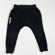 Booso black sweatpants 4-5Y