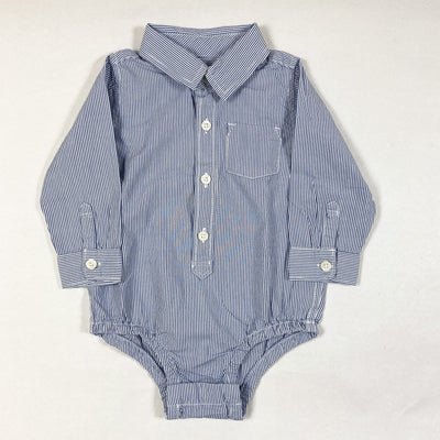 Baby Gap blue striped body with shirt collar 12-18M/80