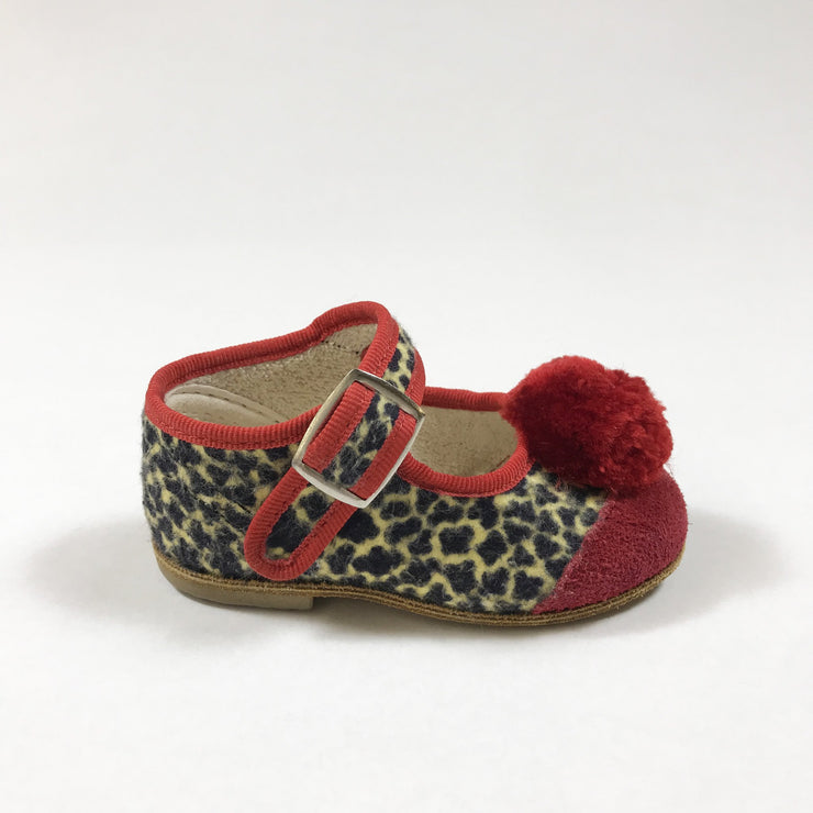 Tiger Swiss ballerina shoes with pom pom 17
