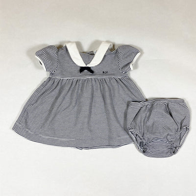 Ralph Lauren blue striped sailor dress and bloomers 3M