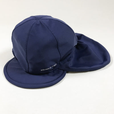 Polarn O. Pyret blue UV swimming hat 4-9M/44-46
