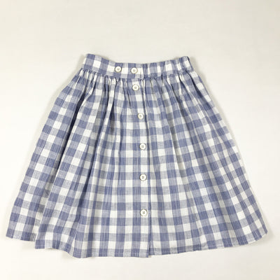Morley blue vichy jo hiro gingham skirt with inside pocket Second Season diff. sizes