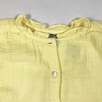 Bonton yellow short-sleeved muslin blouse Second Season 18M