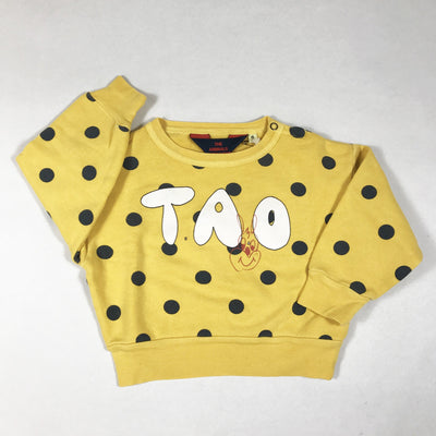 The Animals Observatory yellow polka dot sweater Second Season diff. sizes