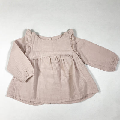 Bonton rose muslin blouse Second Season 12M