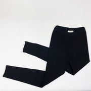 Louis Louise black wool leggings Second Season 10Y
