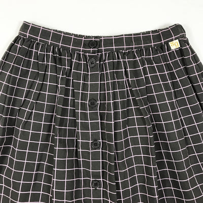 Soft Gallery plum dixie skirt Second Season 8Y