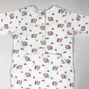 Bonton ecru flower print long-sleeved pyjamas Second Season diff. sizes