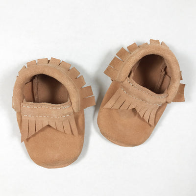Betòn peach leather moccasins 0-6