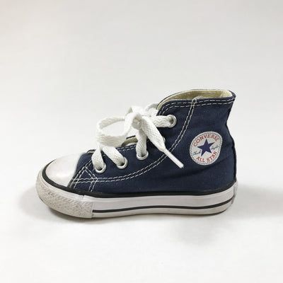 Converse blue high-top sneakers 21