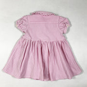 Ralph Lauren pink striped short-sleeved dress with bloomers 9M