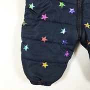 Stella McCartney Kids blue star print winter overall 6M