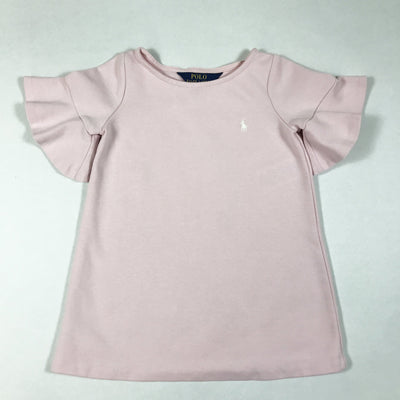 Ralph Lauren pink short-sleeved dress 2Y