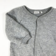 Wheat grey long-sleeved jumpsuit 12M/80