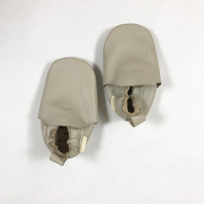 Boumy beige leather house shoes M
