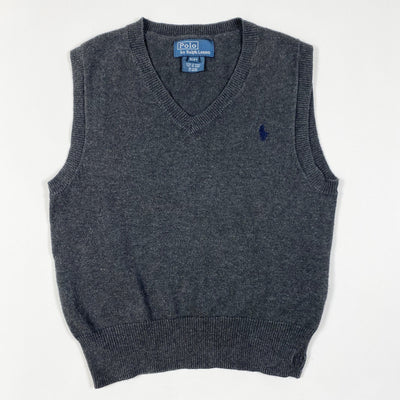Ralph Lauren knitted cotton vest 3Y
