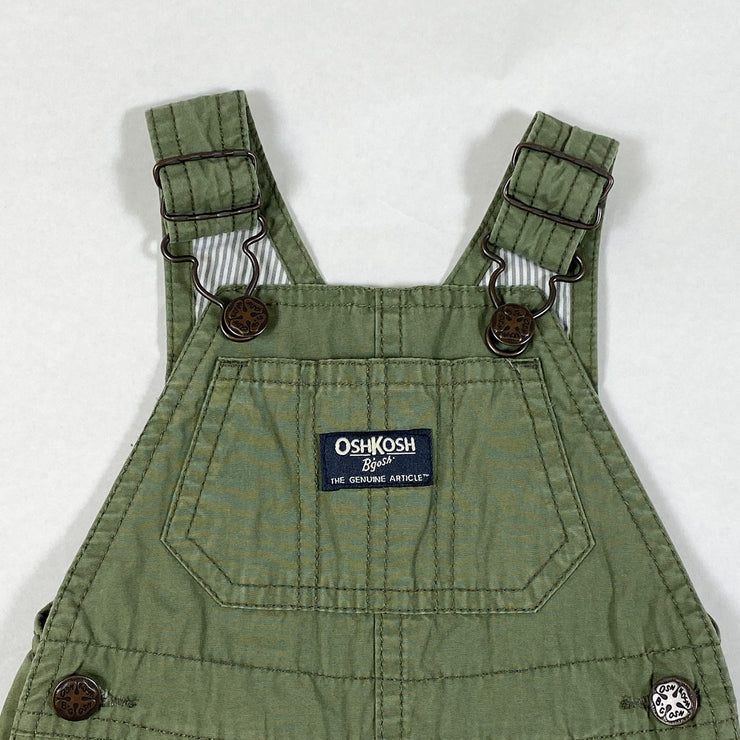 Oshkosh B'gosh khaki cotton dungarees 6-9M