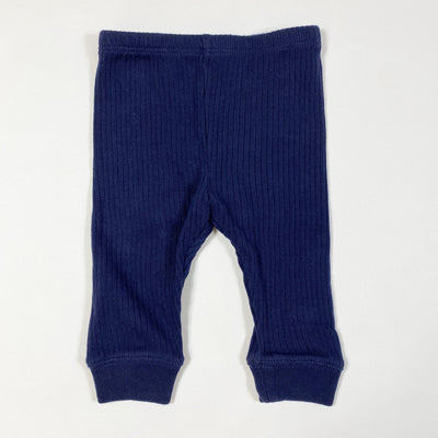 Ralph Lauren navy ribbed leggings 6M