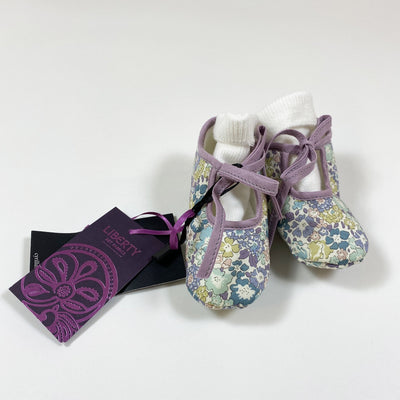 Cyrillus liberty print baby shoes 6/12M