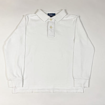 Ralph Lauren white long-sleeved polo shirt 5Y