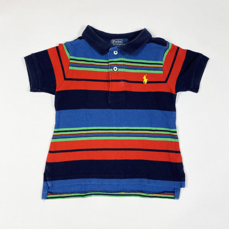 Ralph Lauren multi-coloured short-sleeved polo shirt 5Y