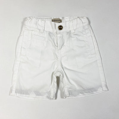 Burberry white chino shorts 18M/86