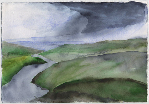Barrenlands Storm - Limited Edition Print