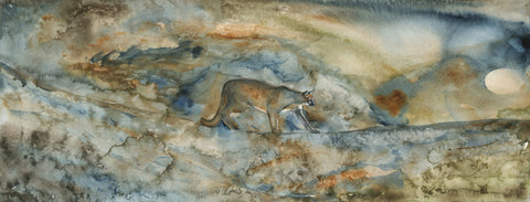 Cougar Almost Home II - Limited Edition Print