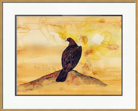 Golden Morning - Framed Original Painting
