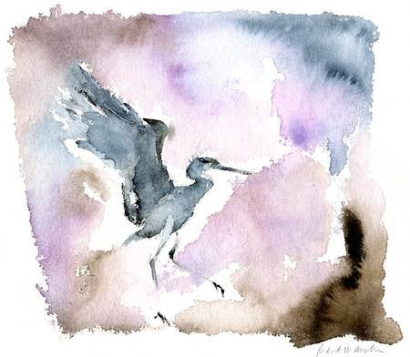Heron Luminescense - Limited Edition Print
