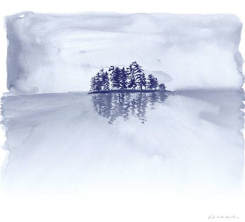 Misty Island - Limited Edition Print