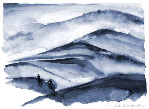 Mountains - Limited Edition Print