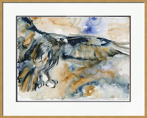 Raptor Call - Framed Original Painting