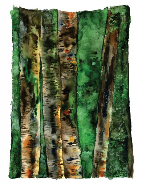 River Birches - Limited Edition Print