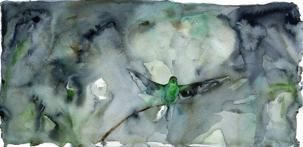 Songbird, Green and Blue – Limited Edition Print