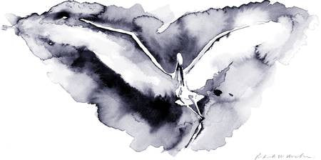 Watercolor Egret - Limited Edition Print
