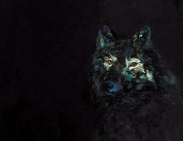 Night Wolf - E-card