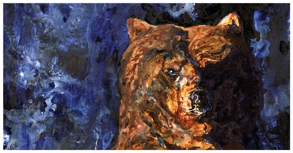 Night Bear – Limited Edition Print